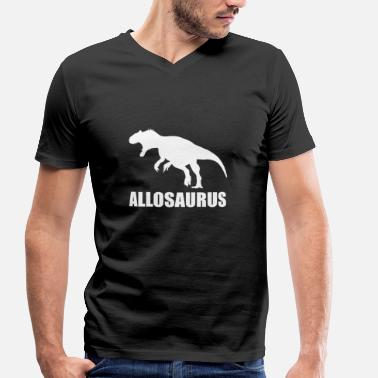 Allosaurus Allosaurus - Men's Organic V-Neck T-Shirt by Stanley & Stella