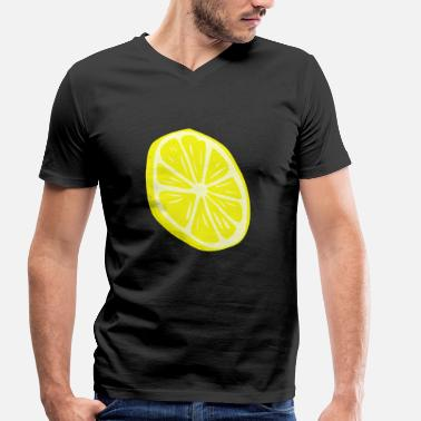 Lime lime - Men's Organic V-Neck T-Shirt by Stanley & Stella