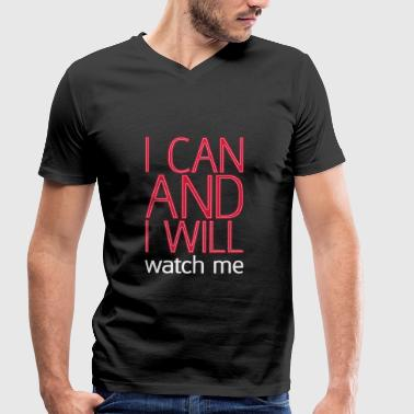 I can and I will watch me - Stanley & Stellan naisten luomupikeepaita