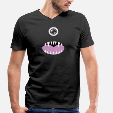 Cyclops Cyclops - Men's Organic V-Neck T-Shirt by Stanley & Stella