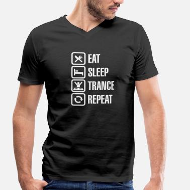Armin Van Buuren Eat Sleep Trance Repeat - Men's Organic V-Neck T-Shirt by Stanley & Stella