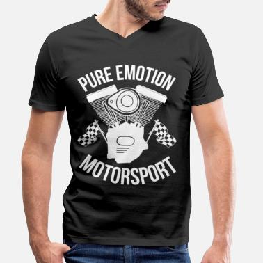 Motorsport Motorsport - Men's Organic V-Neck T-Shirt