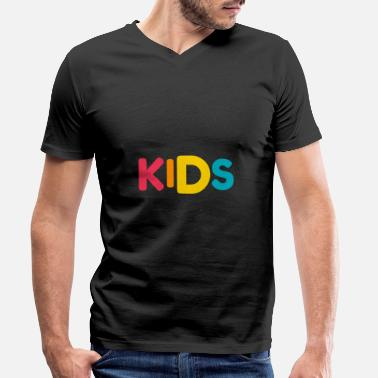 Children children - Men's Organic V-Neck T-Shirt