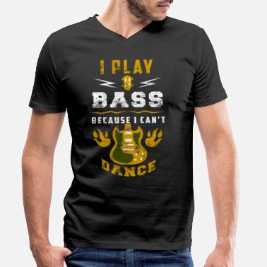 Bass Player Bass player bass player bass player bass player - Men's Organic V-Neck T-Shirt