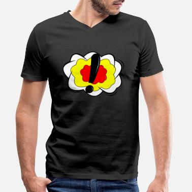 Strip Comic Strip Comic Strip Comic Strip! !! !!! - Camiseta con cuello de pico hombre