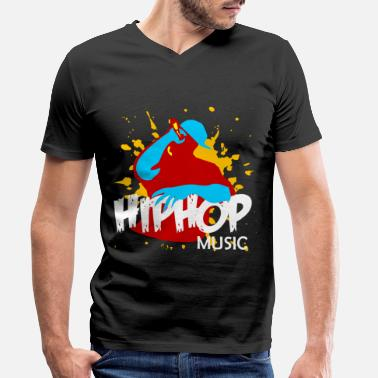 Classic Hip Hop hip hop - Men's Organic V-Neck T-Shirt