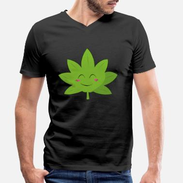 Bud Buddy Funny Bong Pothead Weed 420 best buddys gift - Men's Organic V-Neck T-Shirt by Stanley & Stella