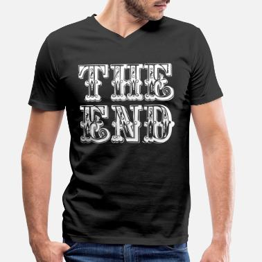 End the end | The end - Men's Organic V-Neck T-Shirt