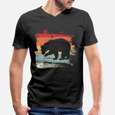 Brown Bear Bear brown bear - Men's Organic V-Neck T-Shirt