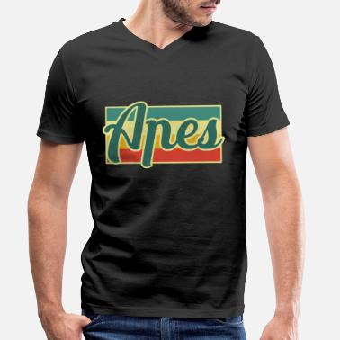 Ape ape - Men's Organic V-Neck T-Shirt