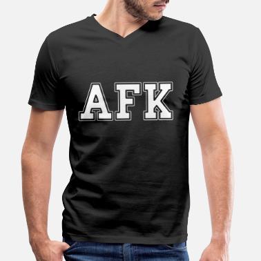 Afk t-shirt drôle homme nerd geek ordinateur gamer pc xbox ps console