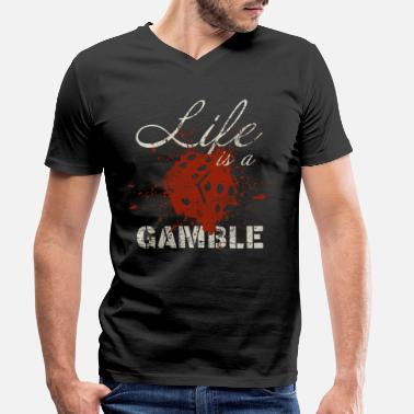 Casino Casino - Men's Organic V-Neck T-Shirt