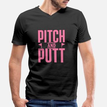 Andes Pitch and Putt Pitch and Putt Pitch and Putt - Camiseta con cuello de pico hombre