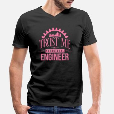 Structure Structural engineer structural engineer structural engineer - Men's Organic V-Neck T-Shirt