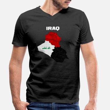Iraq Iraq - Men's Organic V-Neck T-Shirt