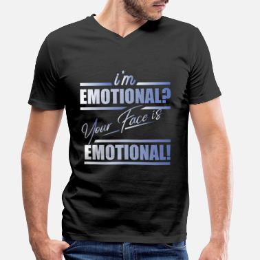 Emotion emotion - Men's Organic V-Neck T-Shirt