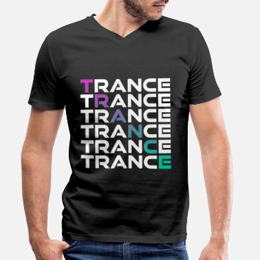 Trance TRANCE - Men's Organic V-Neck T-Shirt