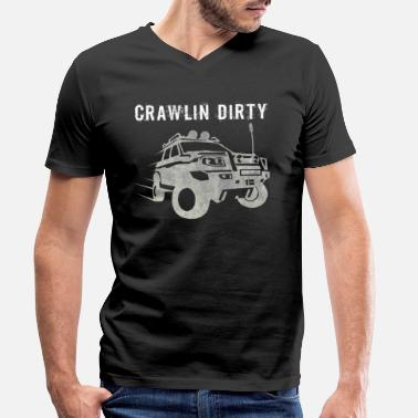Offroad Vehicles Offroad - Men's Organic V-Neck T-Shirt