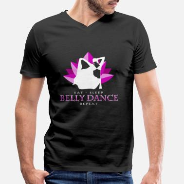 Middle East belly dance - Men's Organic V-Neck T-Shirt