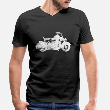 Biker - Men's Organic V-Neck T-Shirt