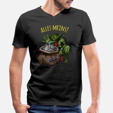 Goblin Goblin - Men's Organic V-Neck T-Shirt