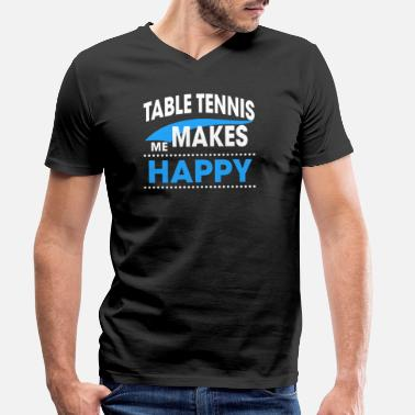 Table Tennis TABLE TENNIS - Männer Bio T-Shirt mit V-Ausschnitt