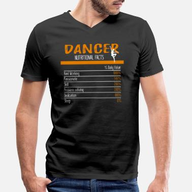 Dancer Dancer ingredients - Men's Organic V-Neck T-Shirt