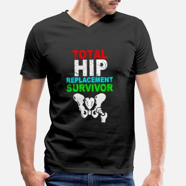 Hip Hip - Men's Organic V-Neck T-Shirt