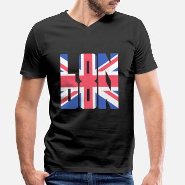 Línea De Londres Pedir En CamisetasSpreadshirt Bandera vm8yNwPn0O