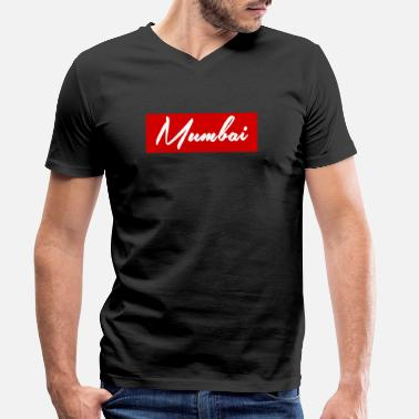 Mumbai mumbai - Men's Organic V-Neck T-Shirt