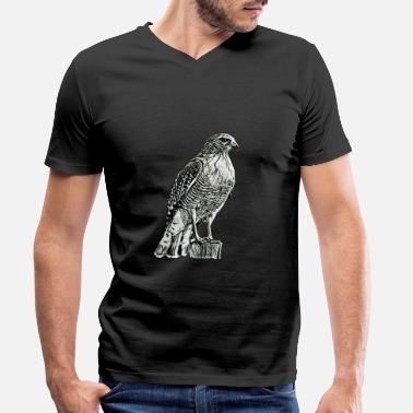 Falcon Falcon - Men's Organic V-Neck T-Shirt