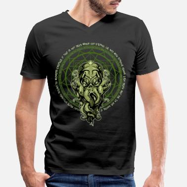 Cool Cthulhu HP Lovecraft - T-shirt bio col V Homme