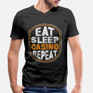 Casino Casino casino - Men's Organic V-Neck T-Shirt