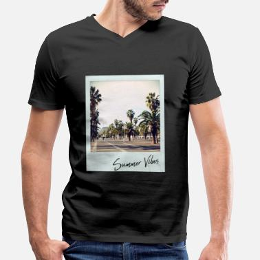 Summer Vibes - Men's Organic V-Neck T-Shirt