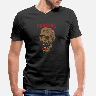 Corpse Corpse of the corpse dead body - Men's Organic V-Neck T-Shirt