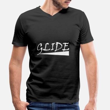 Glide GLIDE - Men's Organic V-Neck T-Shirt