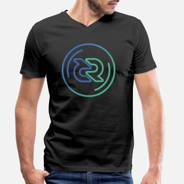 Nano Coin Decred DCR - Men's Organic V-Neck T-Shirt