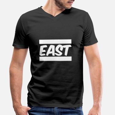 East East - Men's Organic V-Neck T-Shirt
