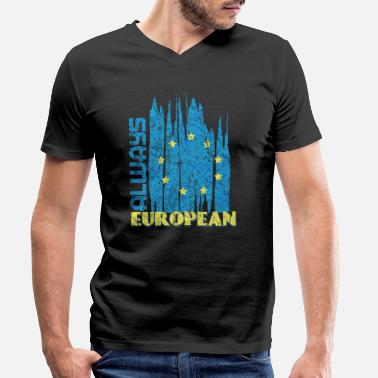 Europe Europe - Men's Organic V-Neck T-Shirt