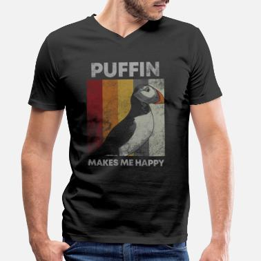 Divers Puffin Island Parrot Diver Bird North Gift - T-shirt bio col V Stanley & Stella Homme