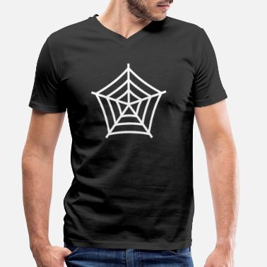 Spider Web Spider web - Men's Organic V-Neck T-Shirt