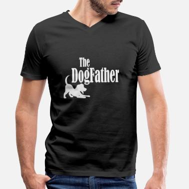 Anime Le dogfather - T-shirt bio col V Homme