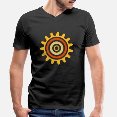 Another cogwheel - Men's Organic V-Neck T-Shirt