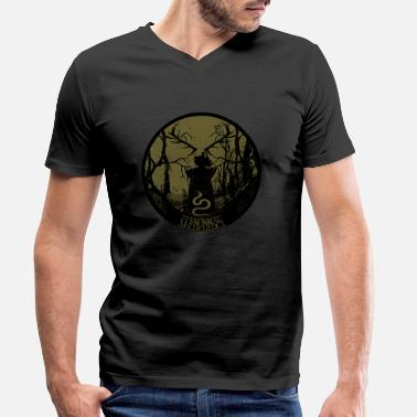 Cernnunnos-Lord of the woods - Men's Organic V-Neck T-Shirt