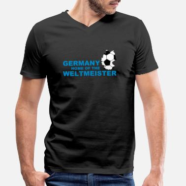 Fairy germany home of the weltmeister 2 - Men's Organic V-Neck T-Shirt