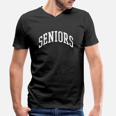 Senior Seniors - Men's Organic V-Neck T-Shirt