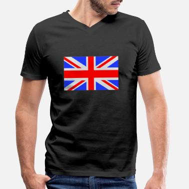 Uk UK - T-shirt bio col V Homme