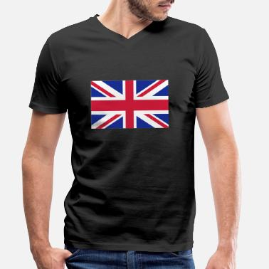Uk UK - Men's Organic V-Neck T-Shirt