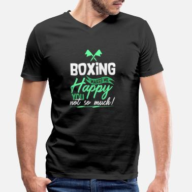 boxing - Men's Organic V-Neck T-Shirt
