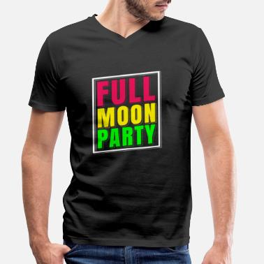 Party Full Moon Party Groups T-Shirt Thailand - T-shirt med V-ringning herr